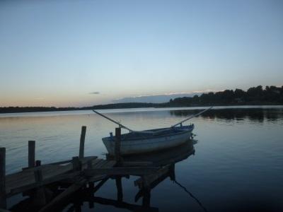 Boot, zee, kroatie klein